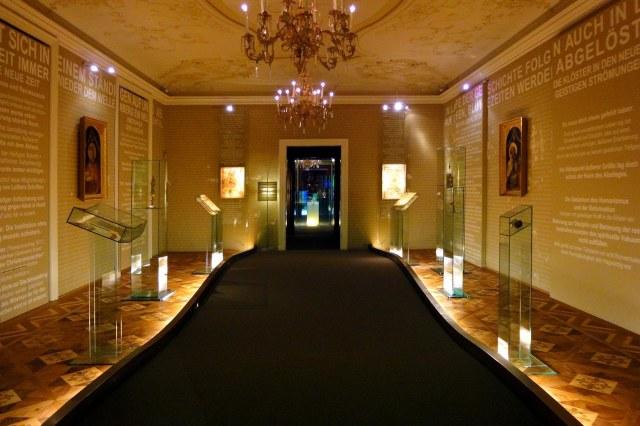 Het museum van de abdij van Melk