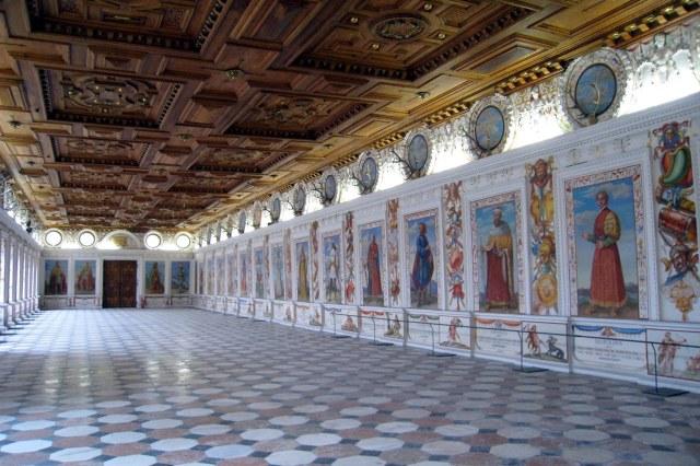 De Spaanse Zaal van Schloss Ambras