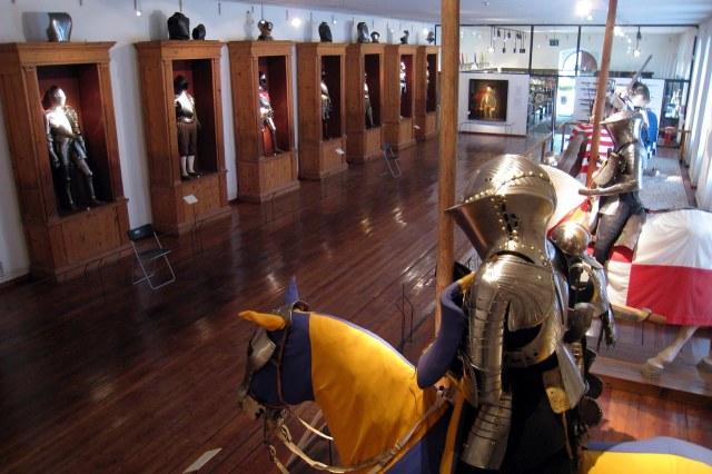 De wapenverzameling van Schloss Ambras