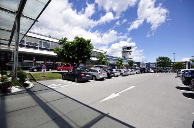 Op de luchthaven van Innsbruck