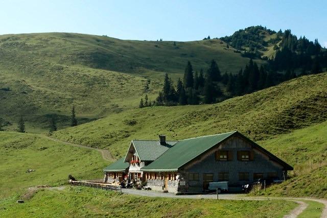 De gemoedelijke Elser Alpe Hütte