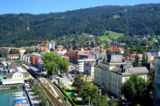 Bregenz aan de Bodensee