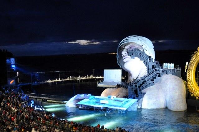 De Bregenzer Festspiele in 2011