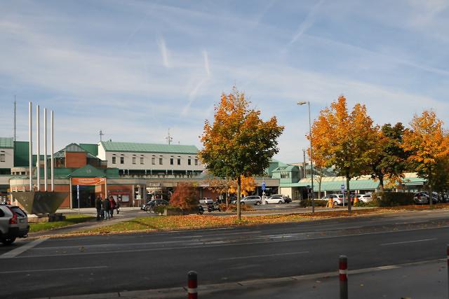 Het treinstation van Bregenz