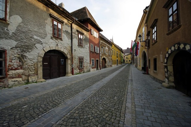 Sopron, nu in Hongarije