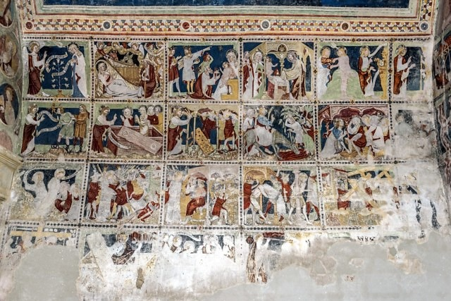 Fresco's oftewel wandschilderingen