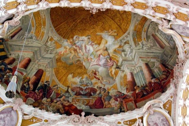 De koepel van de Dom van Innsbruck