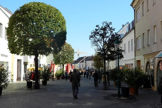 Het centrum van Eisenstadt