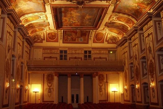 De Haydnzaal in Schloss Esterházy