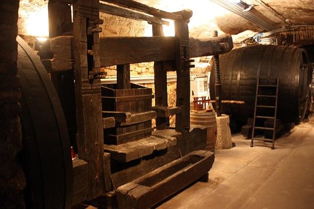 Een van de wijnkelders van Schloss Esterházy