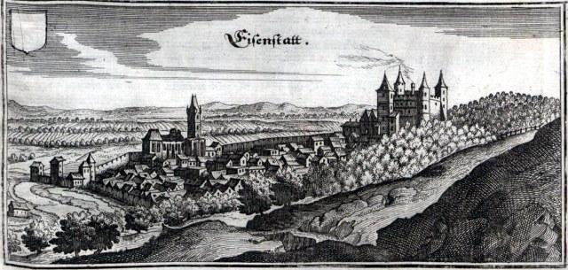Eisenstadt in 1679