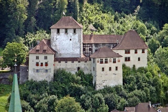 Kasteel Schattenburg in Feldkirch