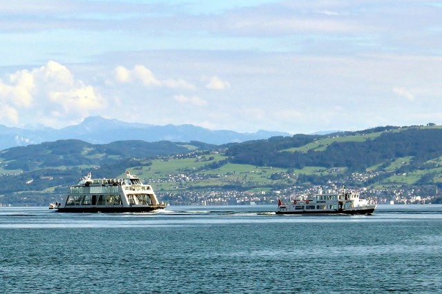 Veerboot op de Bodensee