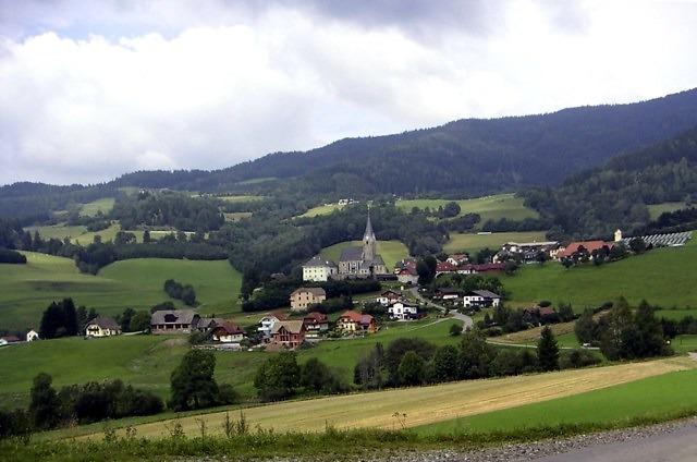Typisch landschap in de omgeving