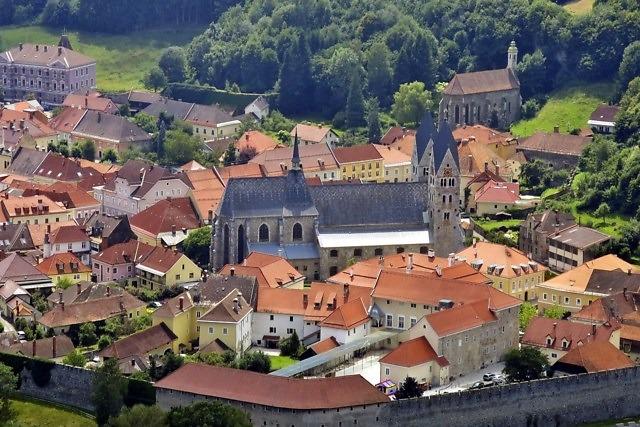 Blik op de historische binnenstad