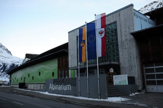 Het Alpinarium van Galtür