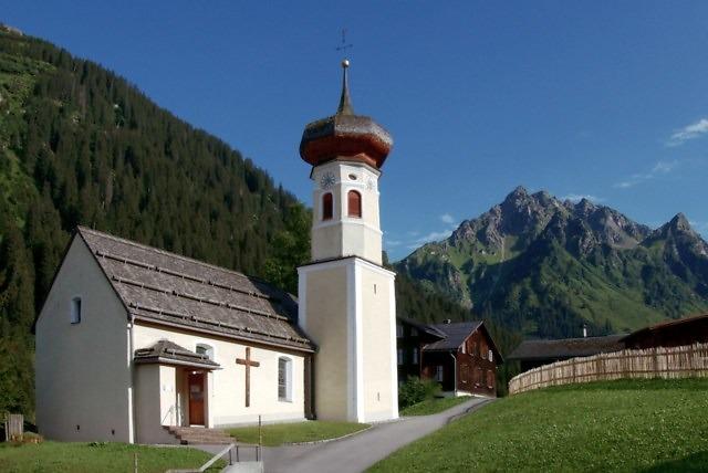De Kuratienkirche van Gargellen
