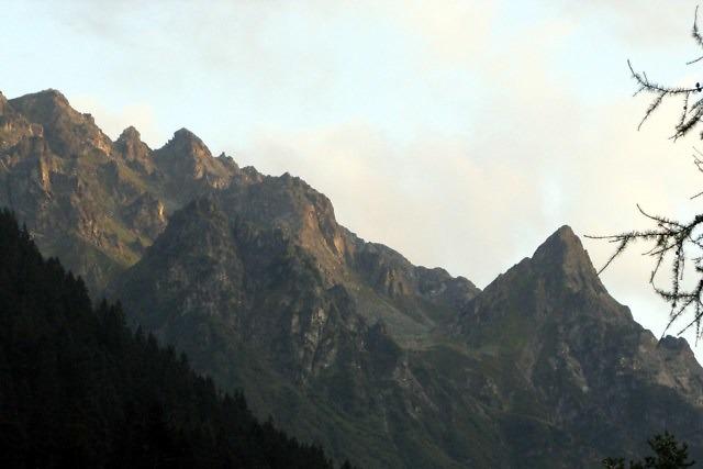 De 2.650 meter hoge Ritzenspitze