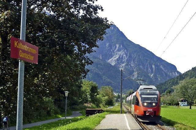 De Montafonerbahn naar Schruns