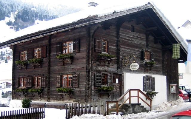 Het Tourismusmuseum van Gaschurn