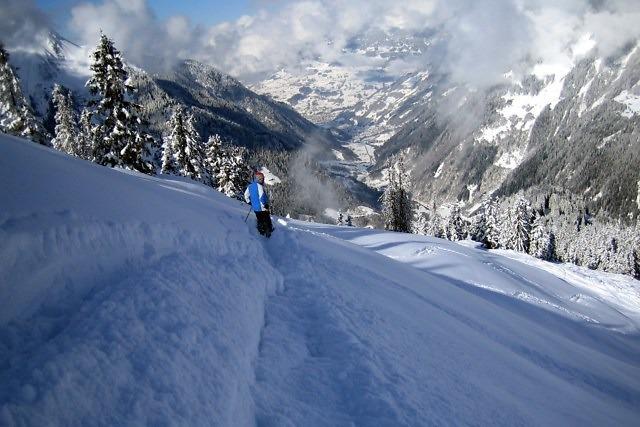 Sneeuw in de winter is verzekerd