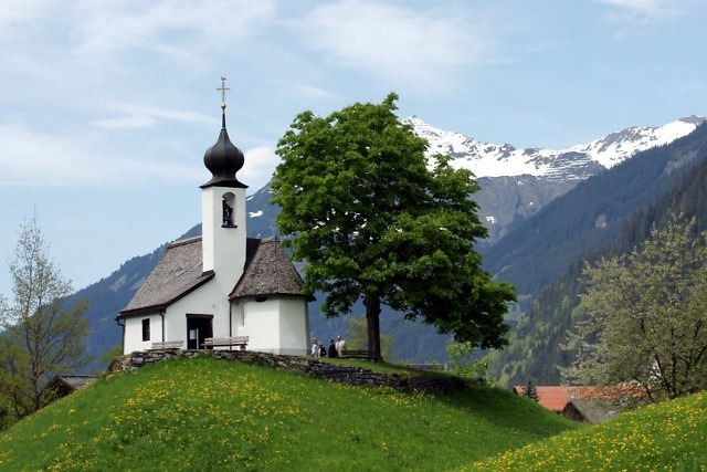 De Maria Schnee-kapel in Gaschurn