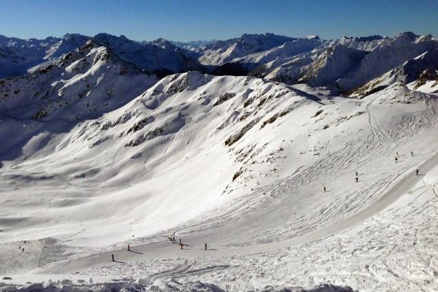 Het Novatal leent zich prima voor de wintersport
