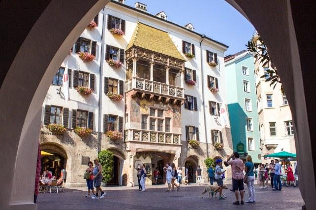 Het Huis met het Gouden Dak in Innsbruck
