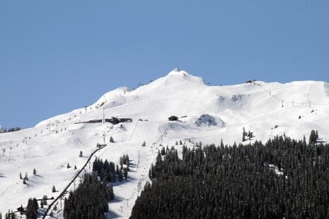 Pistes van het wintersportgebied Golm