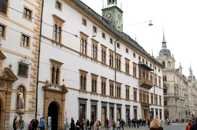 Het Landhaus van Graz