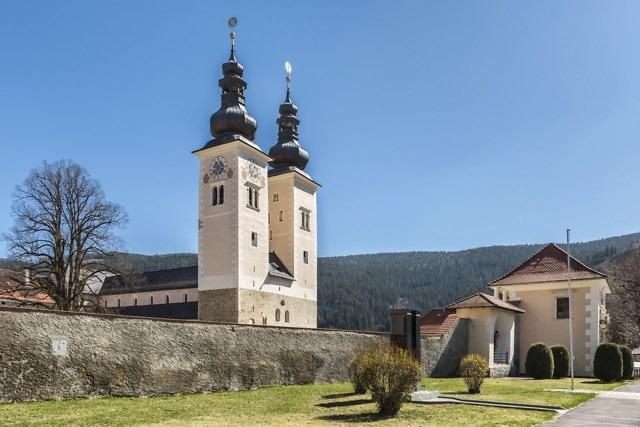 De beroemde kathedraal van Gurk