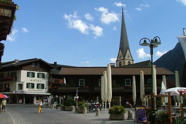 In het centrum van Heiligenblut