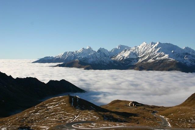 De Großglockner, de hoogste berg van Oostenrijk