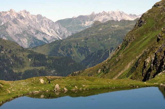 In de bergen rond de Hochjoch