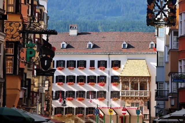 Het huis met het Goldenes Dachl in Innsbruck