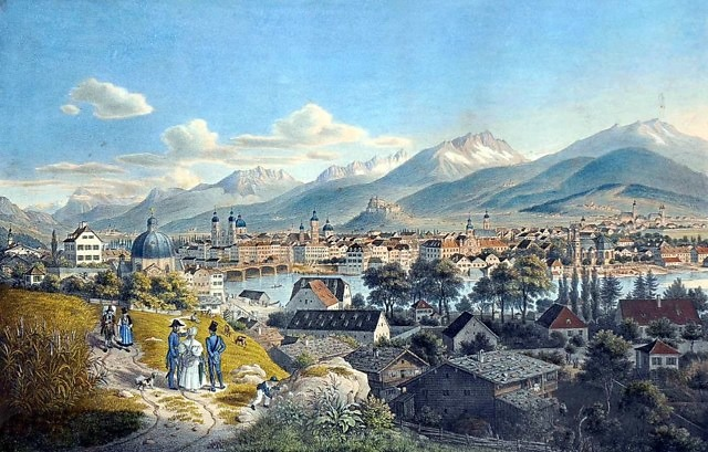 Innsbruck in 1852