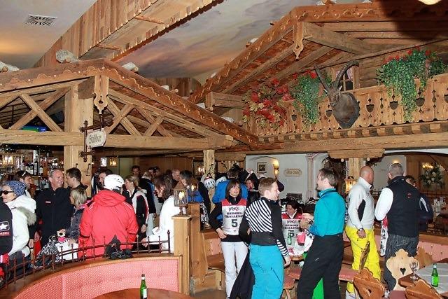 Typisch Oostenrijk après-ski in Ischgl