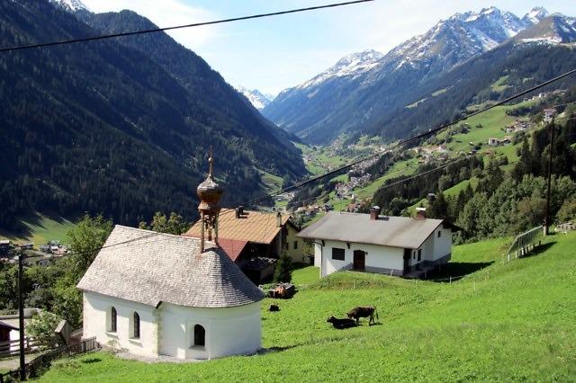 Het Paznauntal bij Kappl