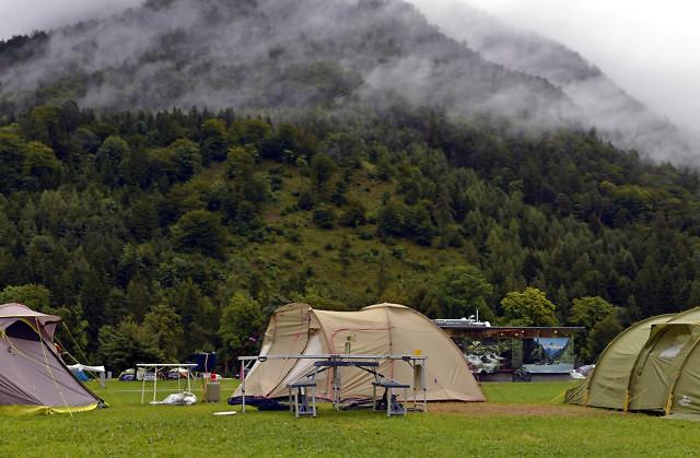 Kamperen in Oostenrijk