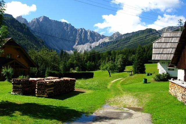 Het Bodental in Karinthië