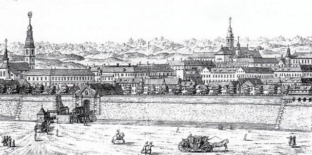 Klagenfurt in de 18e eeuw