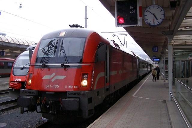 Treinstation van Villach