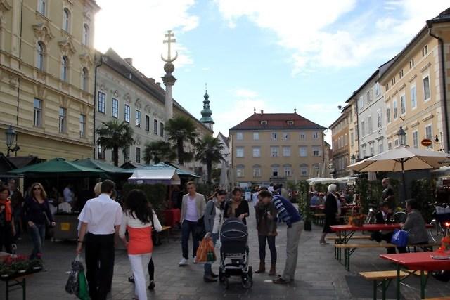 De Alter Platz van Klagenfurt