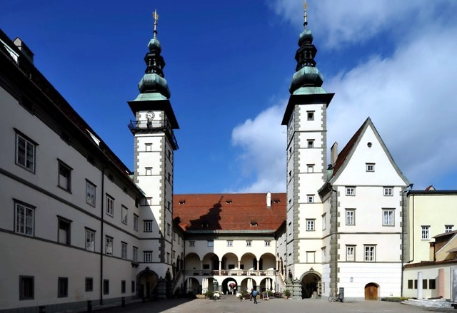 Het Landhaus van Klagenfurt