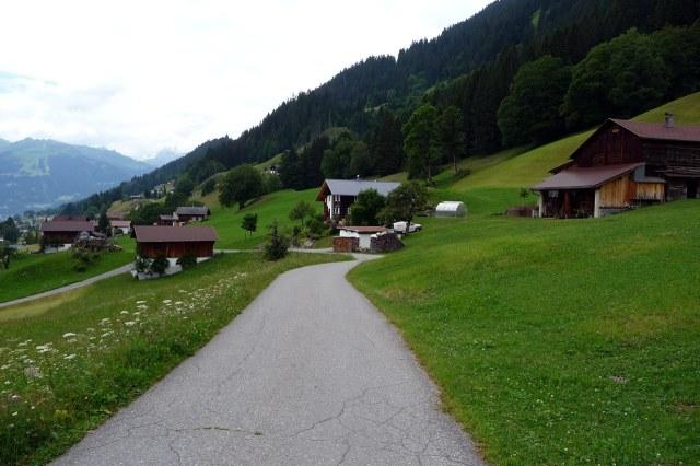 Typische wandelroute nabij Kristberg