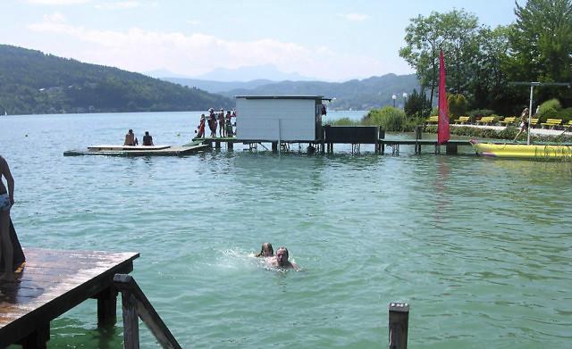 Het Parkbad van Krumpendorf