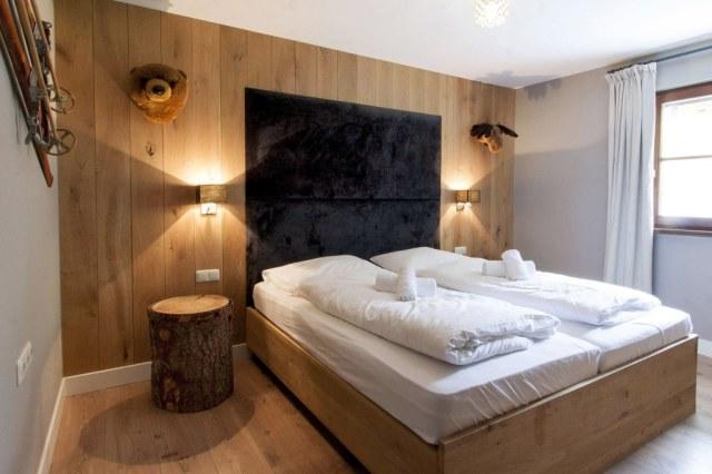 Een smaakvol ingerichte slaapkamer