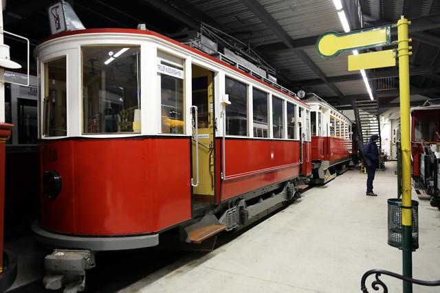 In het Localbahnmuseum Tirol