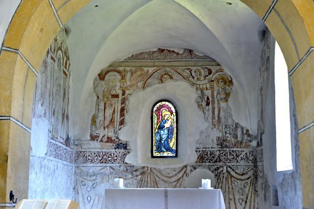 Interieur van de Winterkirche