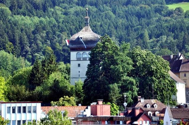 De Martinsturm vanuit de verte gezien